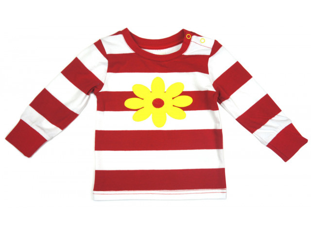 Shirt | Red Daisy