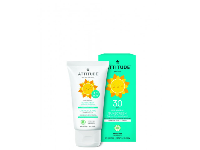 Baby Suncreen SPF30 - 100% Mineral - Fragrance Free