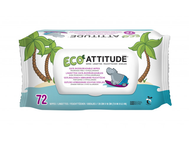 ATTITUDE | Eco Billendoekjes | Single Pack