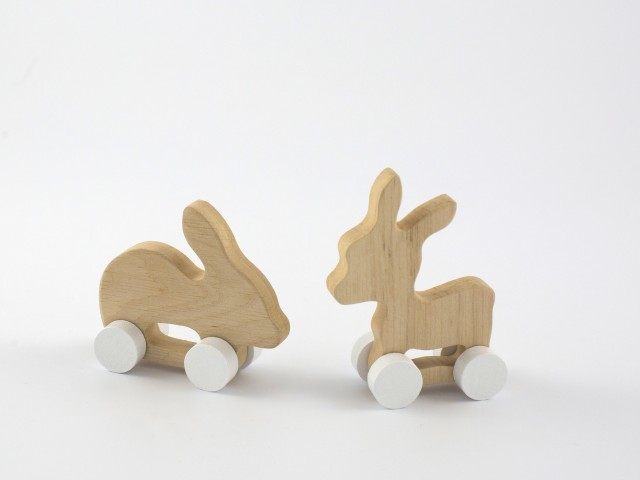 Pinch Toys | Donkey & Rabbit