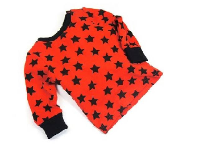 Shirt | Red Black Star