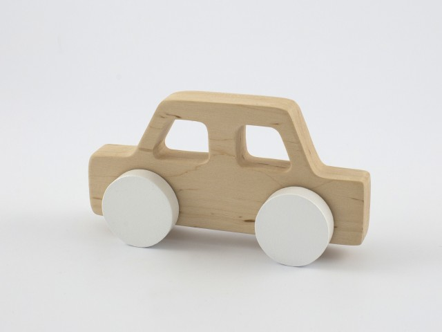 Pinch Toys | Retro80s | Car | White