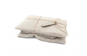 Bedding | Natural Stripes