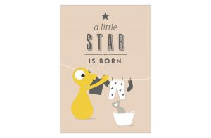 Ansichtkaart | A little star is born
